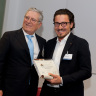 "Oldrati Group wins the award ""Di padre in figlio – il gusto di fare impresa "" 2012."